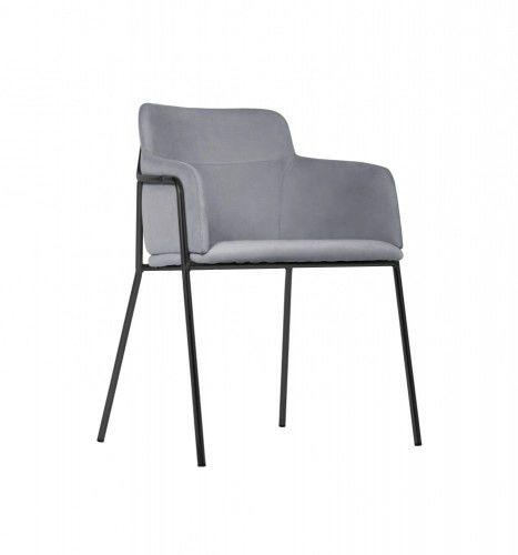 Krzesło Korfu szare