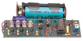 Stroboskop dyskotekowy (do montażu)