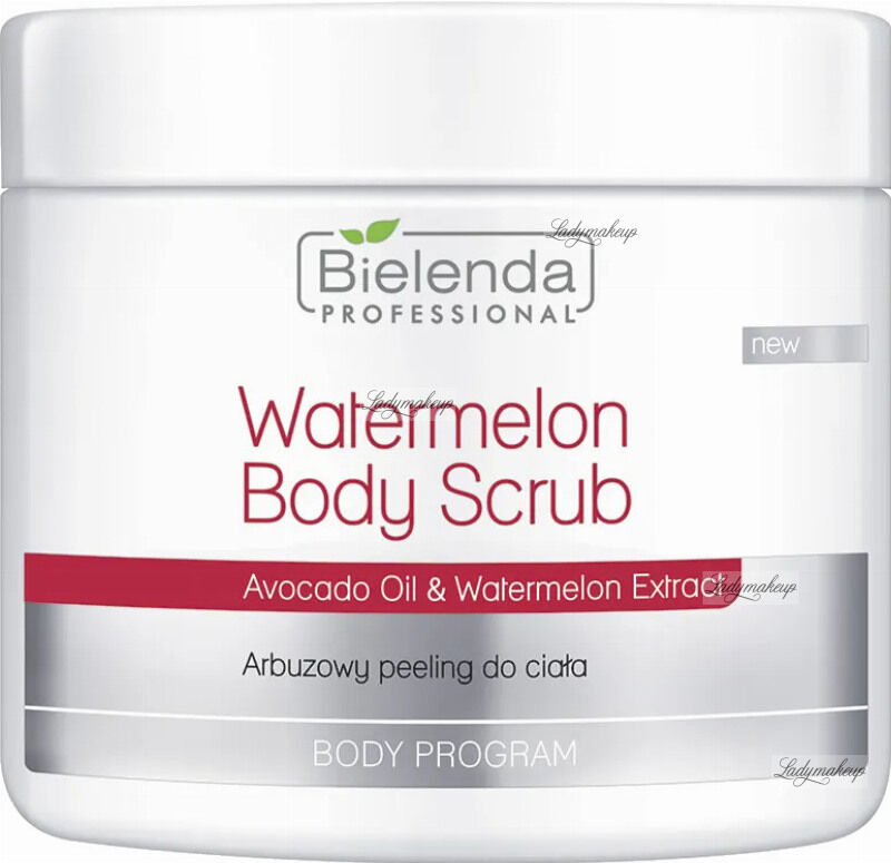 Bielenda Professional - Watermelon Body Scrub - Arbuzowy peeling do ciała - 600 g