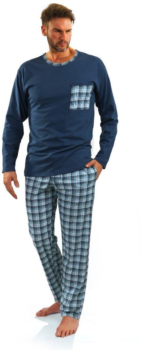 Bawełniana piżama męska Sesto Senso 06