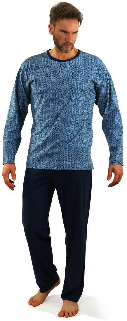 Bawełniana piżama męska Sesto Senso 07