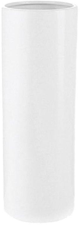 Wazon ceramiczny RURA wys. 31 cm biały
