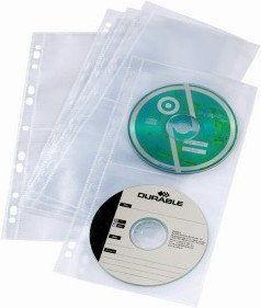 Koszulka zawieszkowa na CD poczwórna COVER LIGHT S DURABLE 5szt /528219/