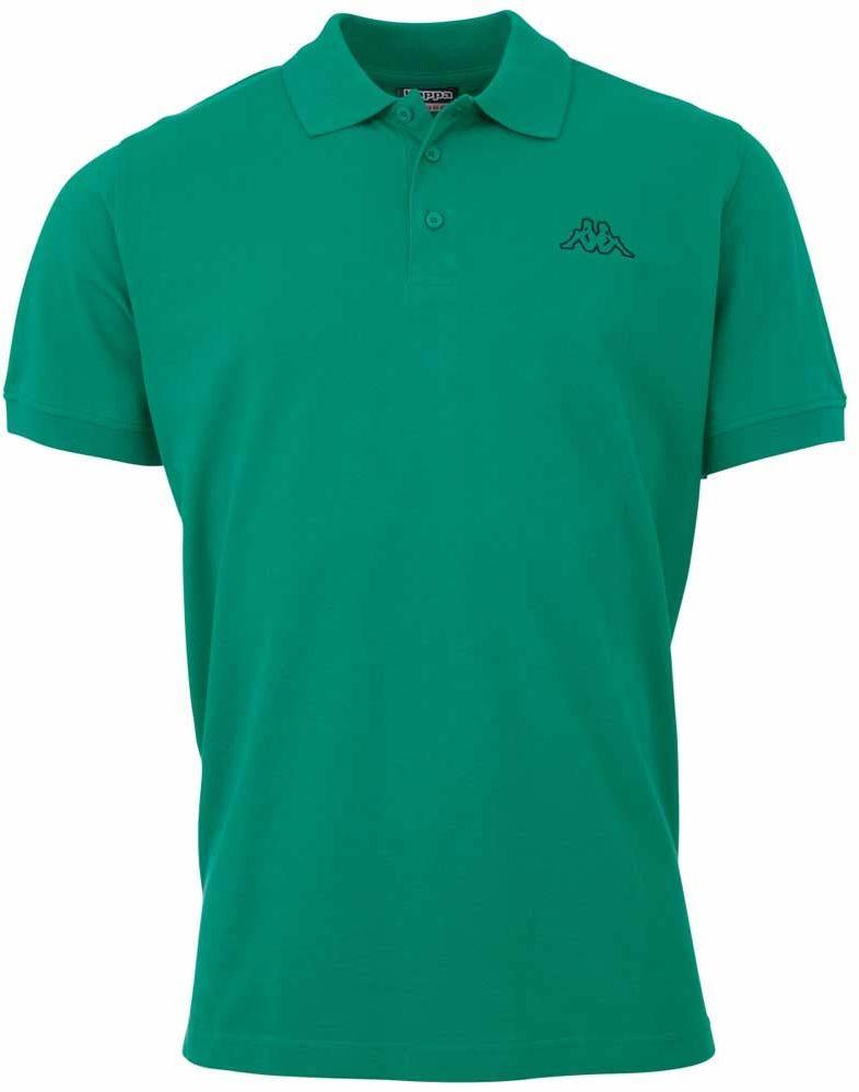 Kappa Peleot męska koszulka polo zielony zielony (green pepper) X-L