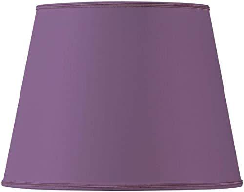 Klosz lampy w kształcie Empire, 20 x 15 x 16 cm, fioletowy