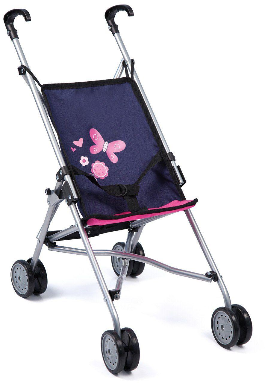 Bayer Design 3011300 30113AA lalki Buggy, niebieski/różowy