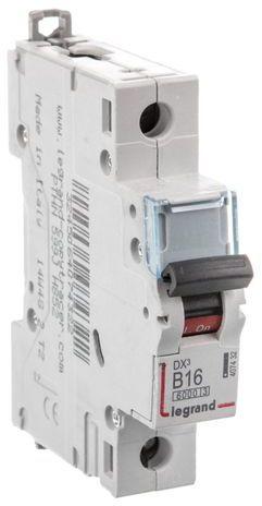 Wyłącznik nadprądowy 1P B 16A 6kA AC S301 DX3 407432