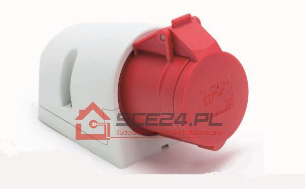 Gniazdo stałe 16A 5P IP44