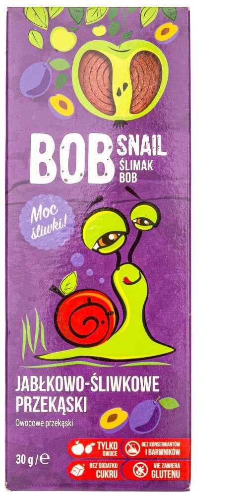 Bob Snail Przekąska jabłkowo-śliwkowa bez dodatku cukru - 30 g