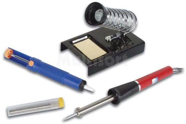 Zestaw lutowniczy dla początkujacego elektronika