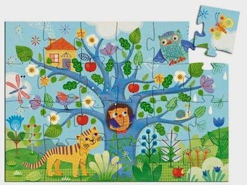 Djeco - Puzzle Sowa 24 Elementy Dj07215