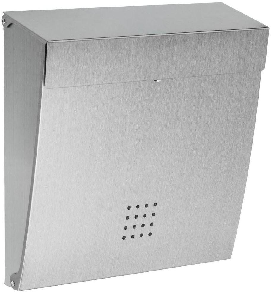 Skrzynka na listy 34 x 35 x 10 cm srebrna A4 STANDERS