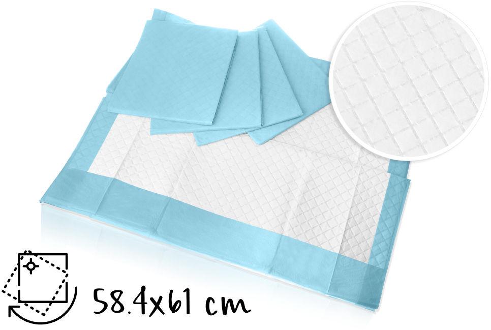 Medline Podkłady chłonne higieniczne-60 x 60 cm 25 sztuk