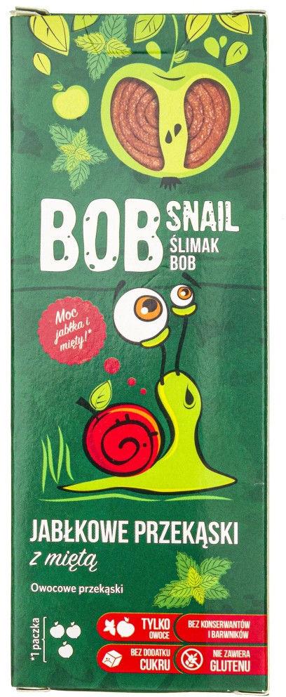 Bob Snail Przekąska jabłkowo-miętowa bez dodatku cukru - 30 g