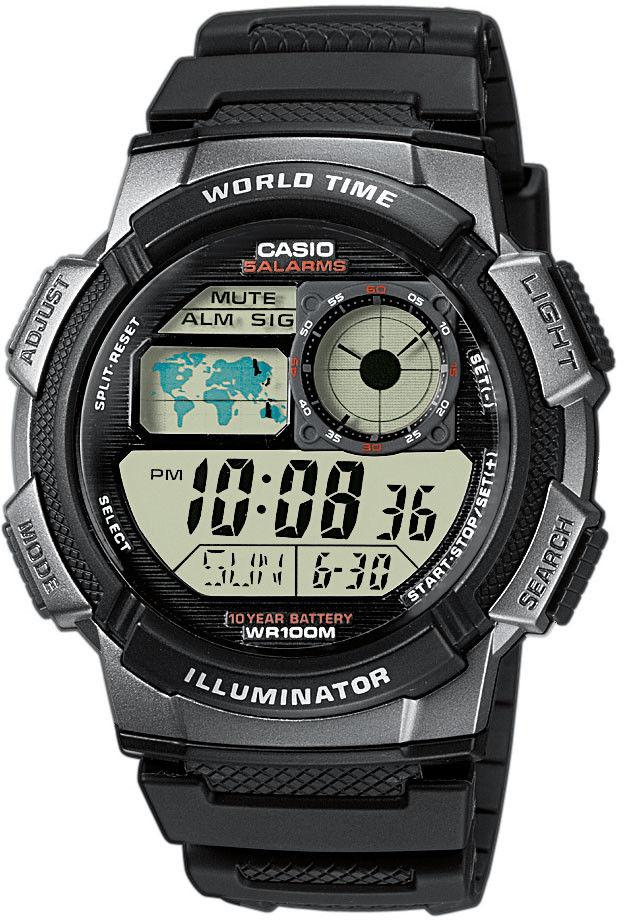 Zegarek Casio AE-1000W-1BVEF - CENA DO NEGOCJACJI - DOSTAWA DHL GRATIS, KUPUJ BEZ RYZYKA - 100 dni na zwrot, możliwość wygrawerowania dowolnego tekstu.