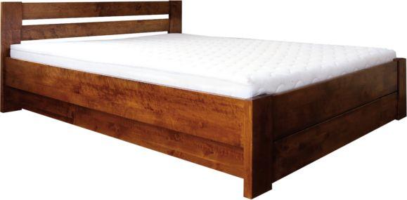 Łóżko LULEA PLUS EKODOM drewniane, Rozmiar: 90x200, Kolor wybarwienia: Orzech Darmowa dostawa, Wiele produktów dostępnych od ręki!