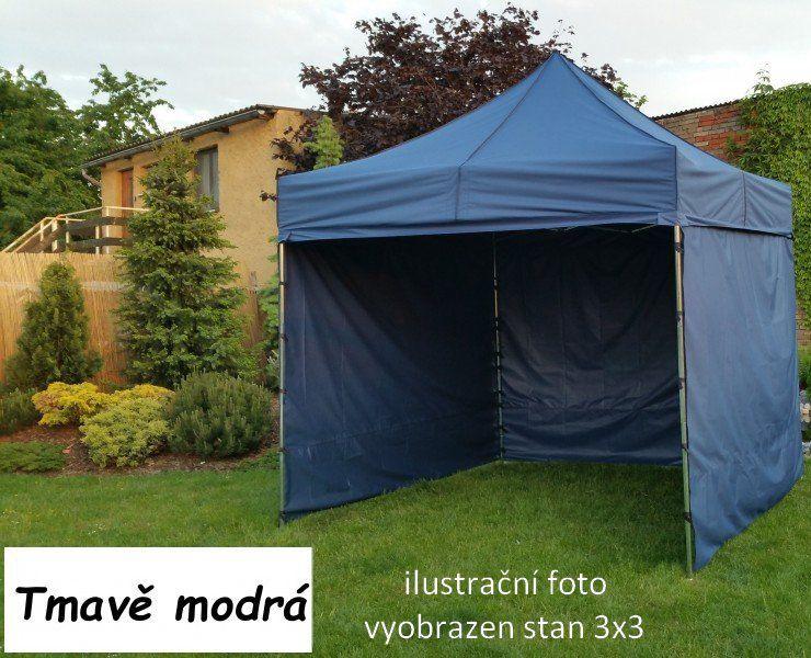 Ogrodowy namiot PROFI STEEL 3 x 6 - ciemny niebieski