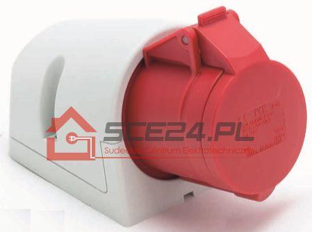 Gniazdo stałe 32A 5P IP44
