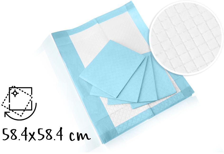 Medline Podkłady superchłonne higieniczne-60 x 60 cm 25 sztuk