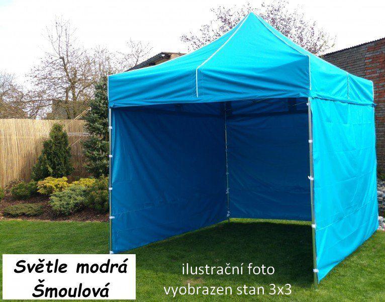 Namiot ogrodowy PROFI STEEL 3 x 6 - jasnoniebieski