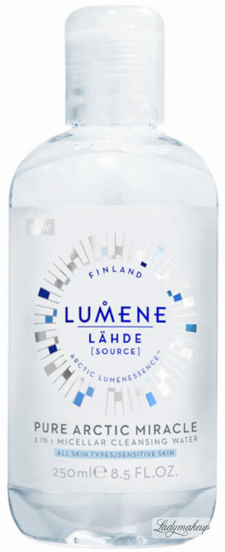 LUMENE - LAHDE - PURE ARCTIC MIRACLE - 3 IN 1 MICELLAT CLEANSING WATER - Płyn micelarny