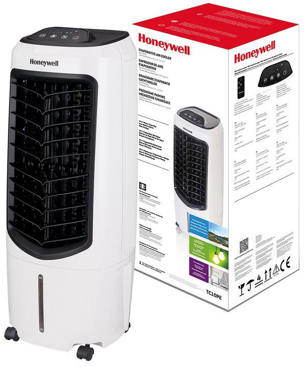 Klimator Honeywell TC10PCEI z jonizatorem Klimator, wentylator i nawilżacz z jonizacją do maksymalnych powierzchni 11m
