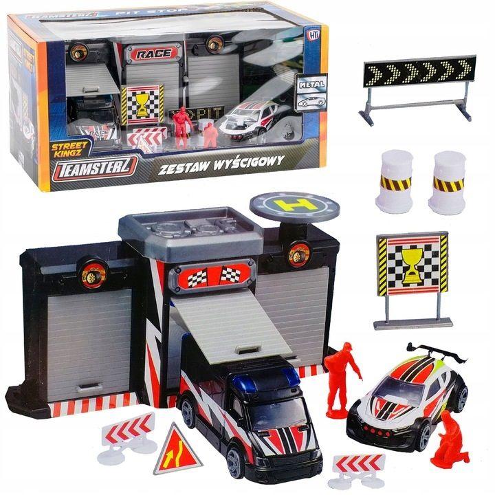 Zabawka Teamsterz 1417246 Wyścigówki 2 szt