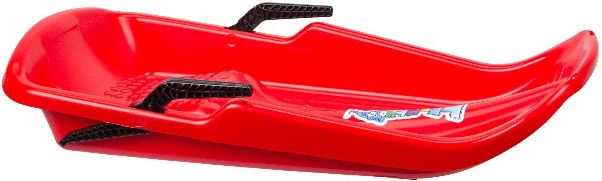Sanki plastikowe z hamulcem dla dzieci Twister