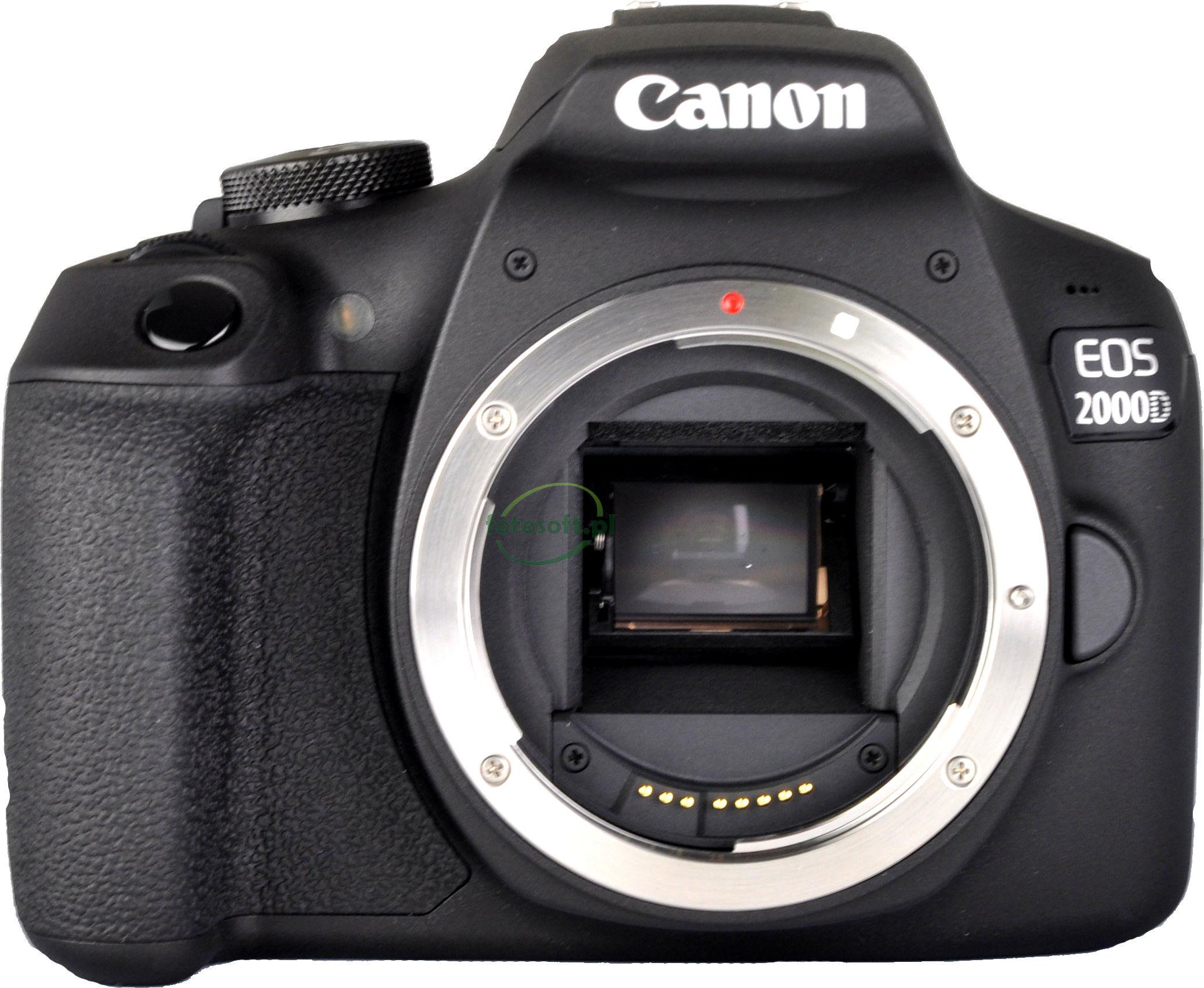 CANON EOS 2000D + 75-300 III / WYSYŁKA GRATIS / RATY 0% / TEL. 500 005 235