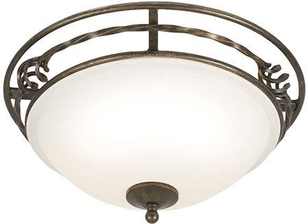 Plafon PEMBROKE PB/F/A BLK/GOLD - Elstead Lighting  Skorzystaj z kuponu -10% -KOD: OKAZJA
