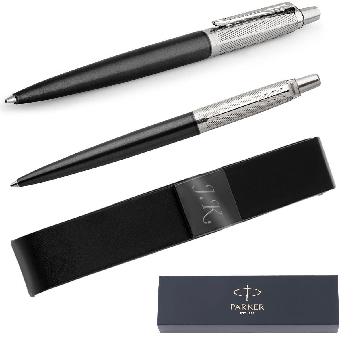 Długopis Parker Jotter PRM SS Tower Grey Diagonal CT + Etui Grawer