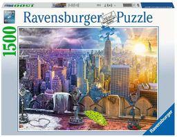 Ravensburger Puzzle 16008 Ravensburger Nowy Jork W Lecie I Zimie 1500 Elementów Puzzle Dla Dorosłych (16008) Unikalne Elementy, Technologia Softclick - Klocki Pasują Idealnie