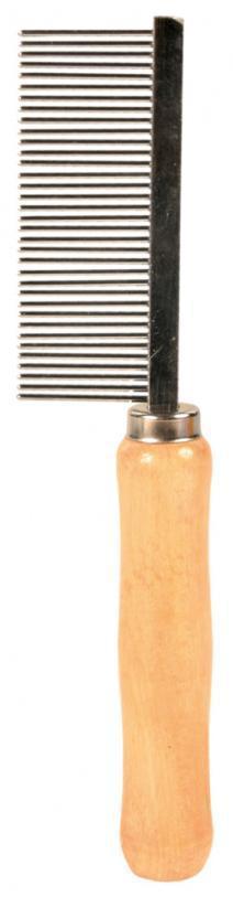 GRZEBIEŃ (trixie) ENGLAND średni, drewniana rączka