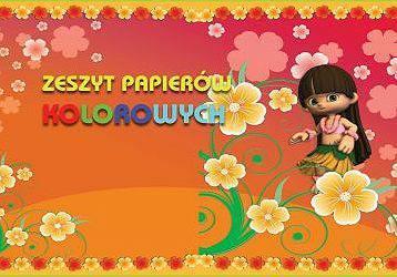 Blok papierów kolorowych A4 10 K. - X06088