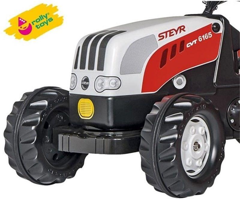 Rolly Toys rollyKid Traktor na Pedały z Przyczepą Steyr