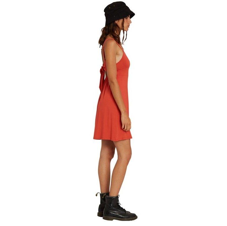 sukienka VOLCOM - Easy Babe Dress Rosewood (ROS)