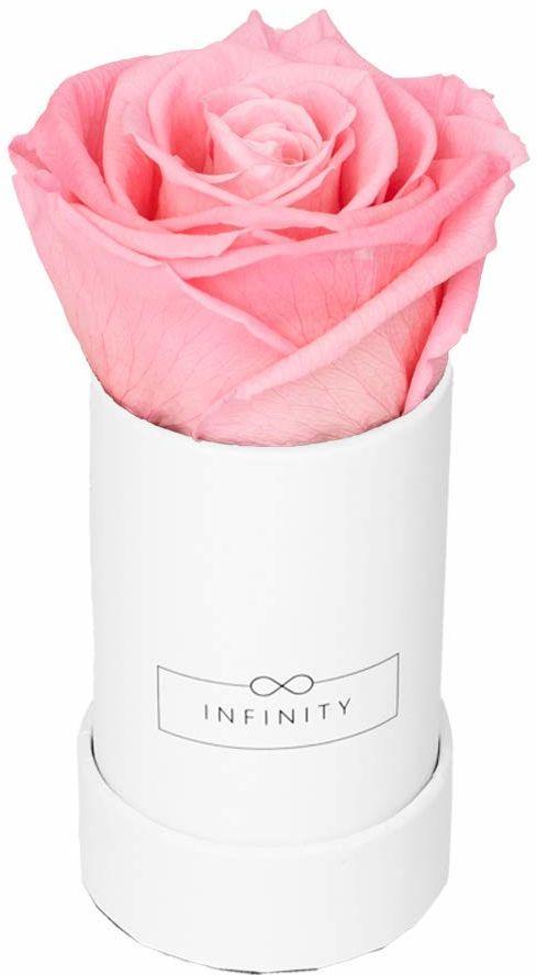 Infinity Flowerbox Pudełko z kwiatami, Bridal Pink, Extra Small