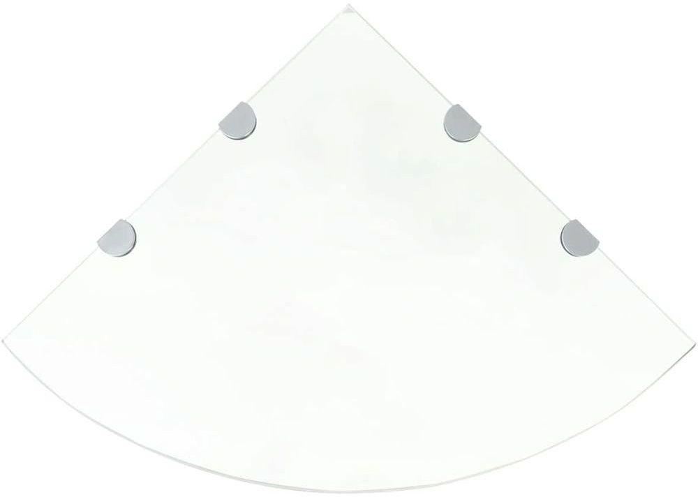 Szklana półka narożna - Gaja 4X