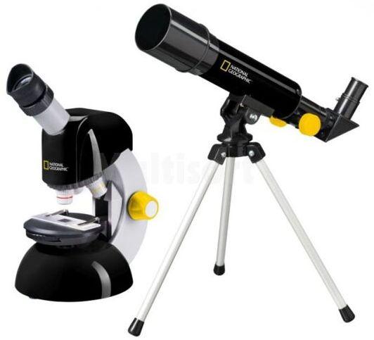 Zestaw teleskop i mikroskop National Geographic