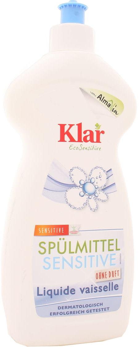 Płyn do naczyń sensitive Eco - Klar - 500ml
