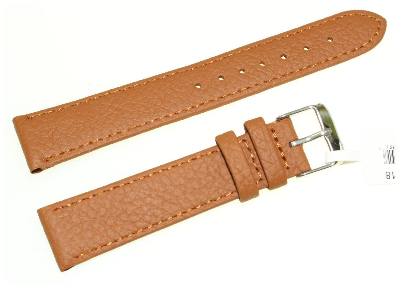 Skórzany pasek do zegarka 18 mm JVD R22703-18