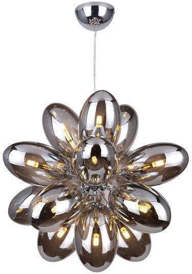Lampa wisząca Diana 16 AZ2155 Azzardo nowoczesna oprawa w kolorze chromu