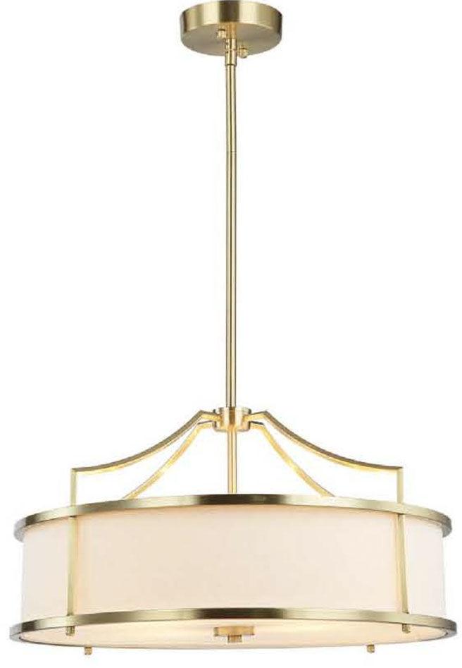 Lampa wisząca Stanza Old Gold M Orlicki Design nowoczesna oprawa w kolorze złotym