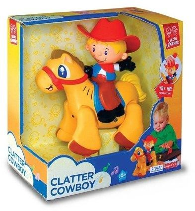 Galopujący kowboj