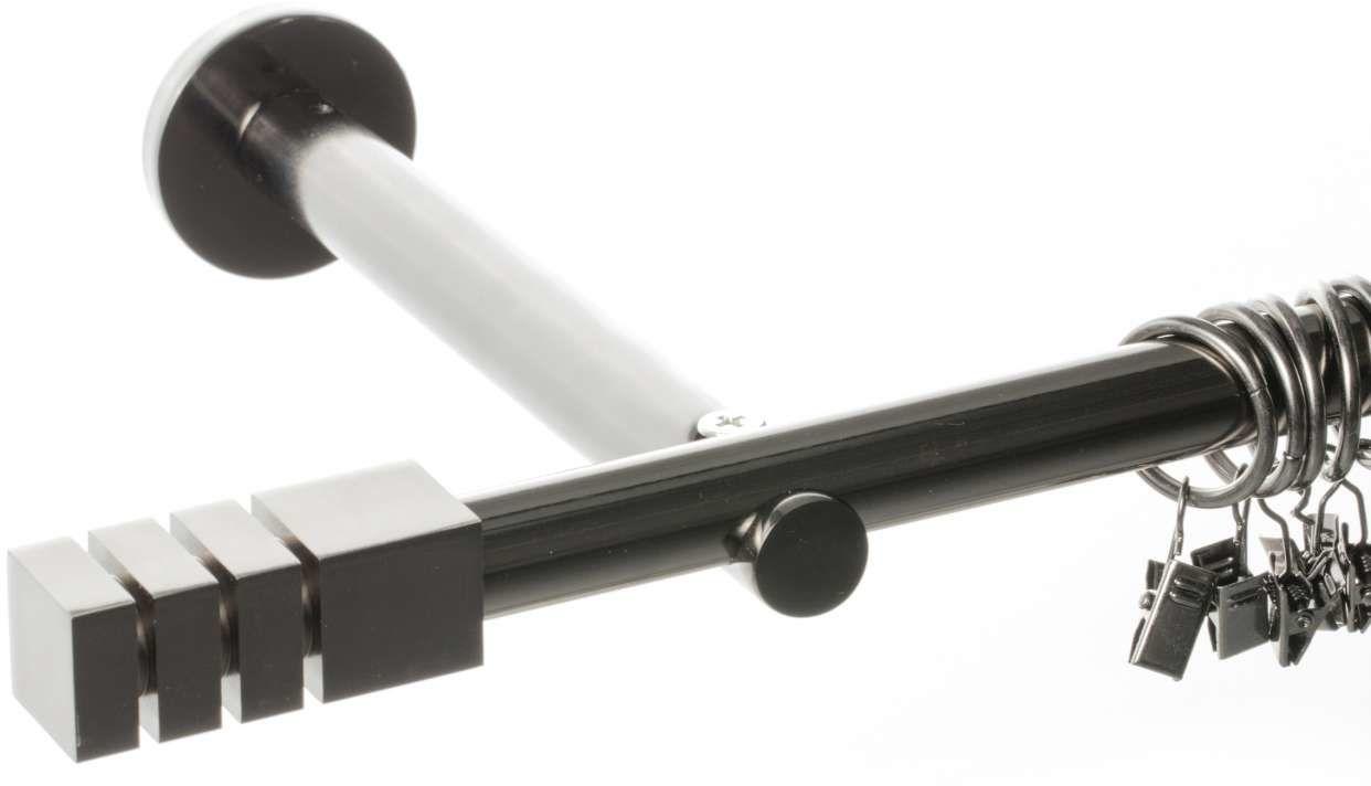 Karnisz pojedynczy Nordic tytan 240 cm