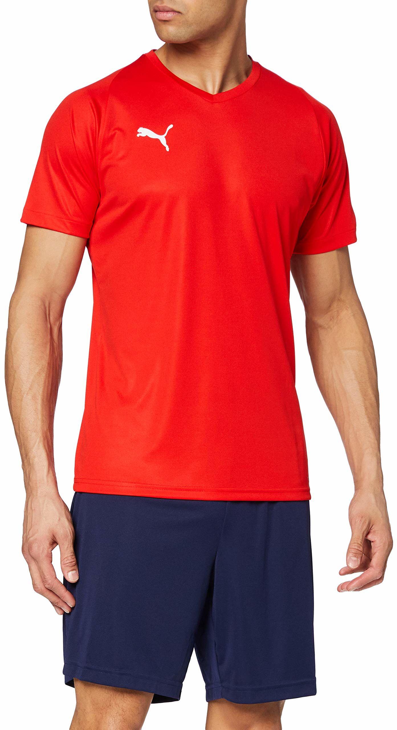 PUMA męska koszulka z dżerseju liga Puma Red/Puma White M