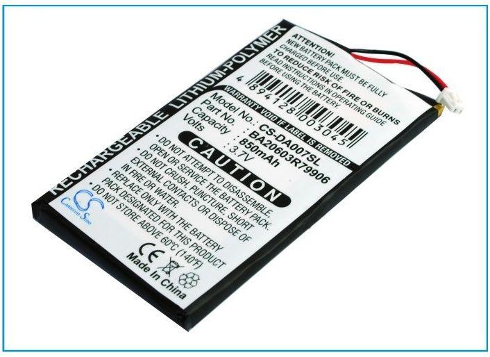 Creative Zen Neeon / BA20603R79906 850mAh 3.15Wh Li-Polymer 3.7V (Cameron Sino)