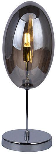 Lampa stołowa Diana AZ2151 Azzardo nowoczesna oprawa w kolorze chromu