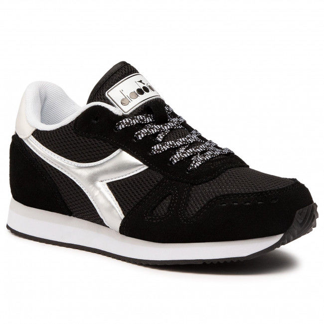 Sneakersy DIADORA - Simple Run Wn 101.175733 01 C0641 Black/White