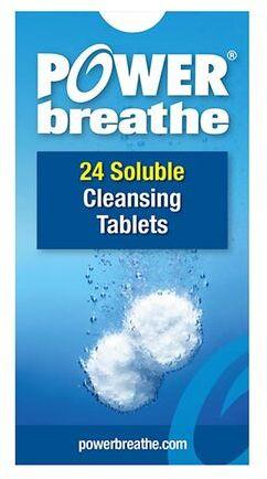 Tabletki czyszczące do trenażera PowerBreathe - 24 sztuki